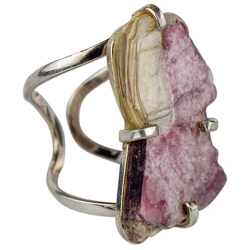 Lepidolite   Arc Ring