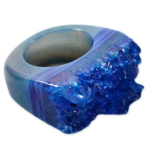 Blue High Druzy | Druzy Rings