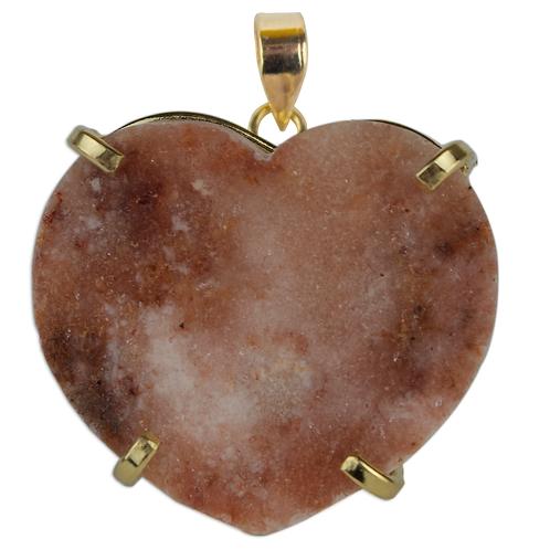 Pink Amethyst (Heart) | Fancy Pendants