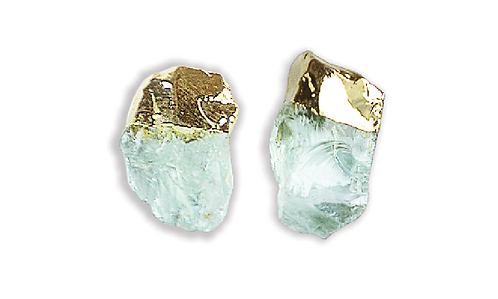Aquamarine   Gem Stud Earrings