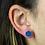 Thumbnail: Blue Druzy   Druzy Stud Earrings