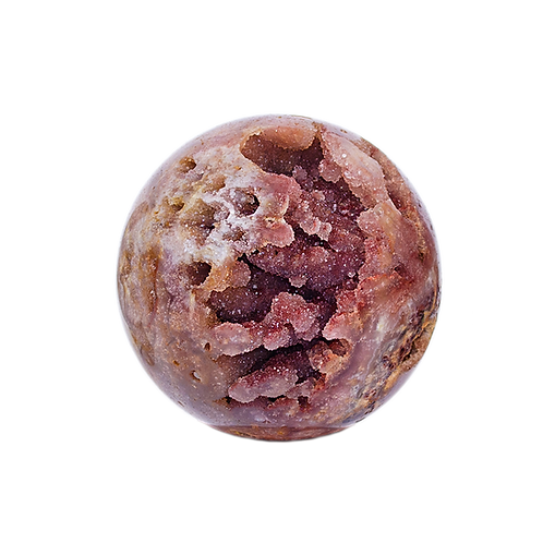 Geode Spheres Quality A   Pink Amethyst