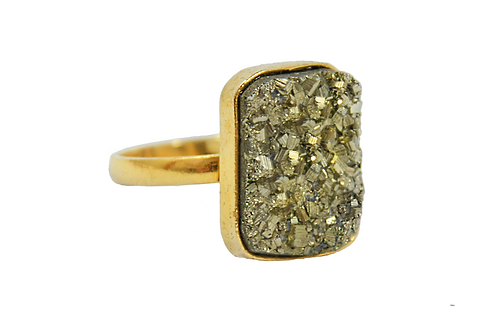 Pyrite | Simple Band Ring