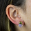 Thumbnail: Moon Stone | Gem Stud Earrings
