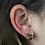 Thumbnail: Smokey | Gem Stud Earrings