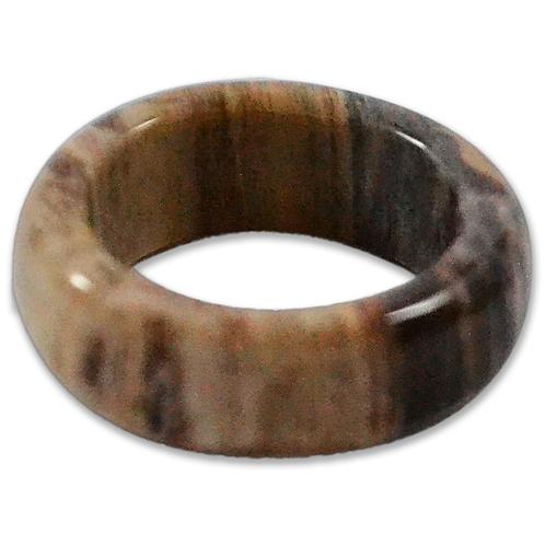 Petrified Wood   Wedding Rings