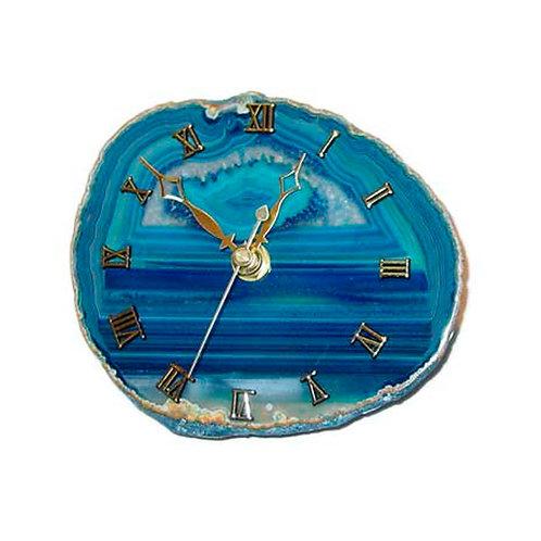 Blue Agate Clocks | Decor Accessorie