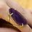 Thumbnail: Agate Slice   Arc Ring