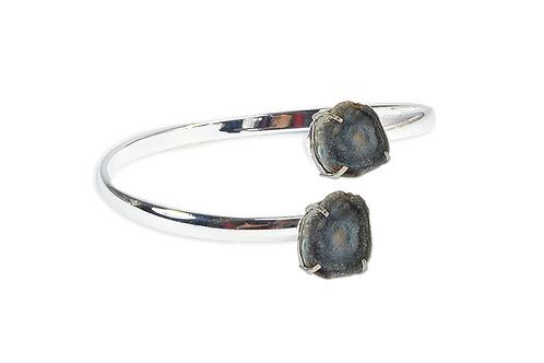 Druzy Shell | Dual Bracelet