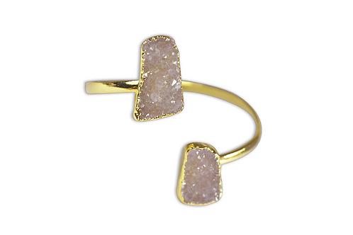 Agate Druzy | Dual Bracelet