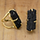 Thumbnail: Black Tourmaline   Arc Ring