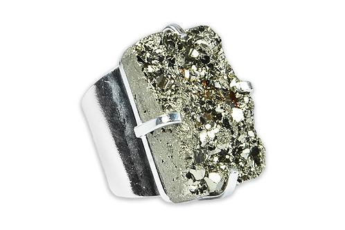 Pyrite | Cuff Ring