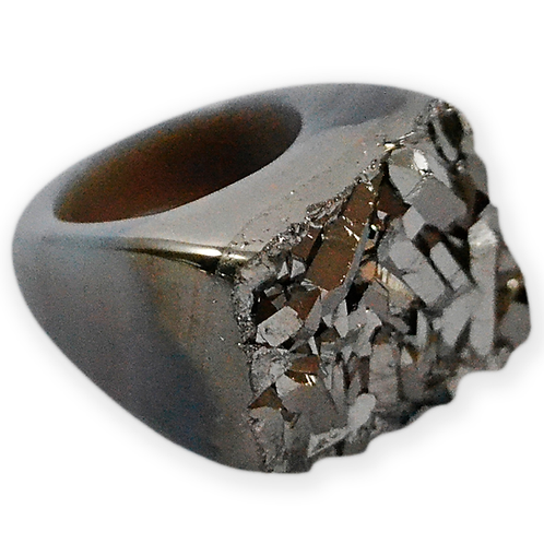 Black Coated Ring   Coated Rings