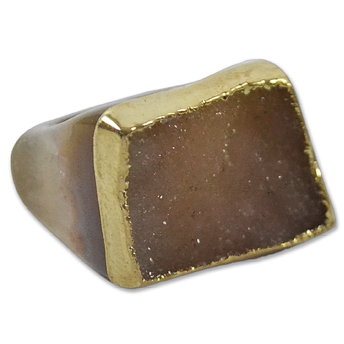 Brown Ring   Crown Plated Rings