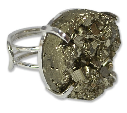 Pyrite | Wire Ring