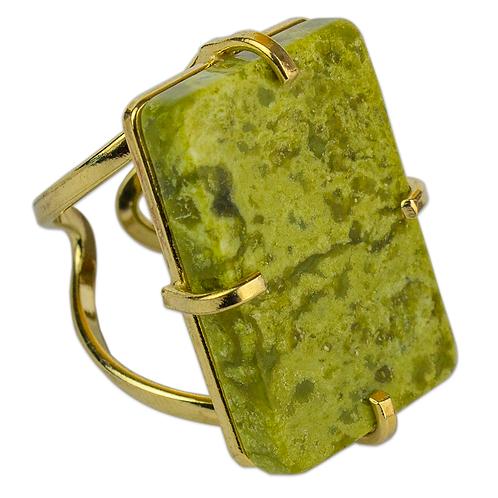 Lemon Jasper   Arc Ring