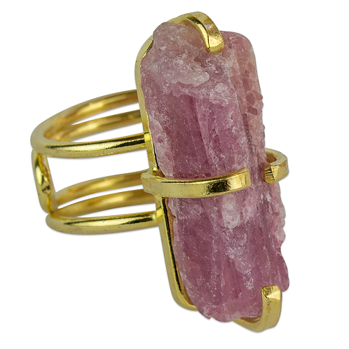Pink Tourmaline | Wire Rings