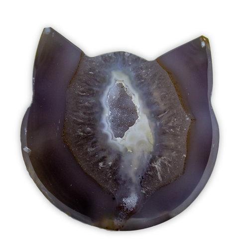Druzy Agate Cat | Minerals