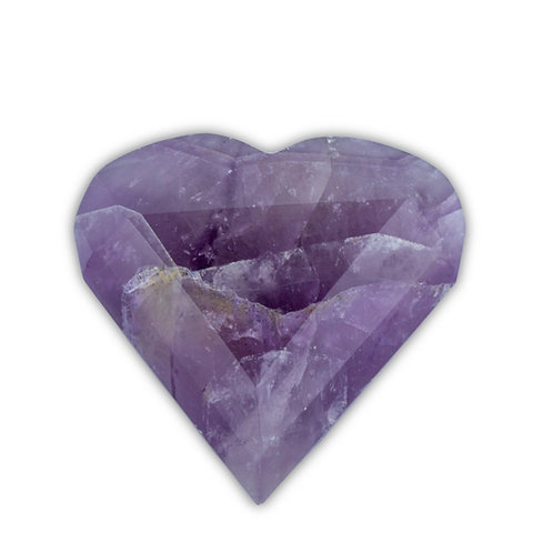 Polished Amethyst Heart | Minerals