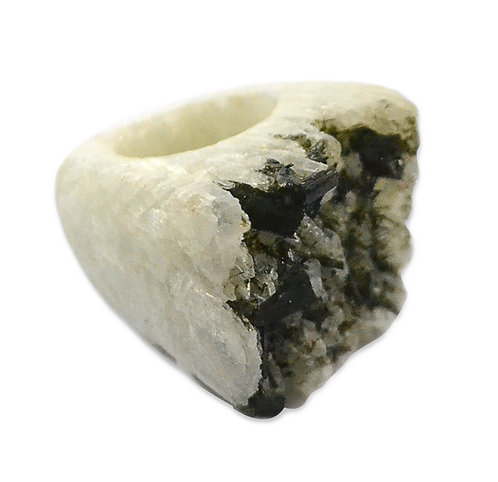 Raw Epidote   Carved Rings