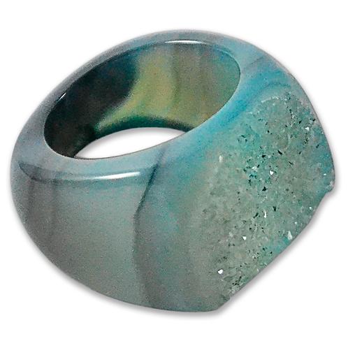 Teal Druzy | Druzy Rings