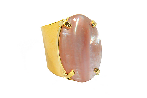 Mother Pearl | Cuff Ring