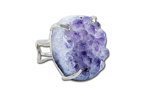 Amethyst | Wire Ring