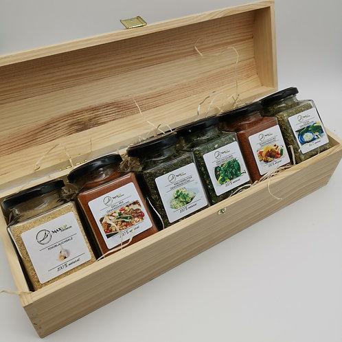 """Geschenkset """"Holzbox"""""""