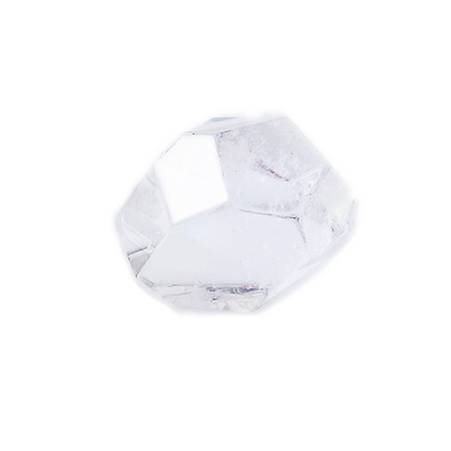 Crystal Quartz Super Extra | Freeform Faceted Quartz