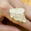 Thumbnail: Crystal   Wire Ring
