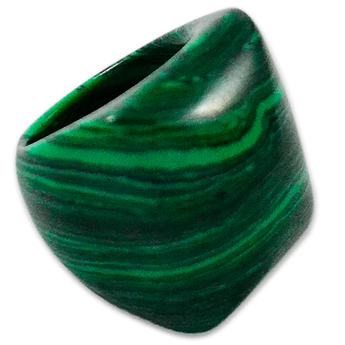 Malaquite | Polished Rings
