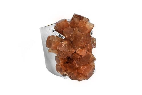 Aragonite   Cuff Ring