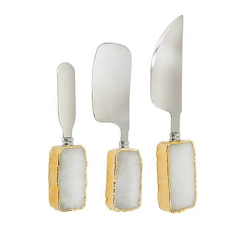 Cheese Knife Set | Quartz Cutlery