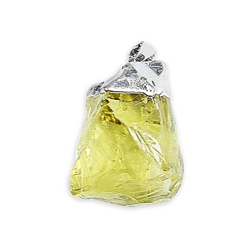 Green Gold Gem | Freeform Pendants