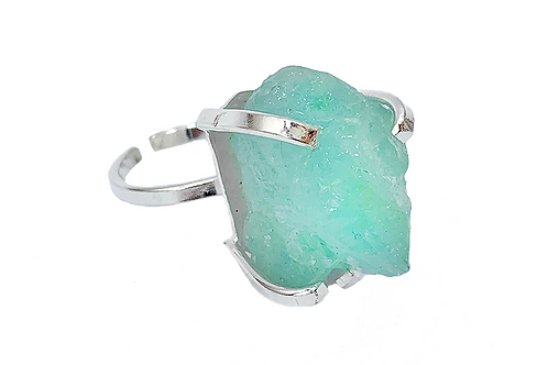 Aquamarine | Simple Band Ring