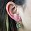 Thumbnail: Pyrite | Fancy Dropper Earrings