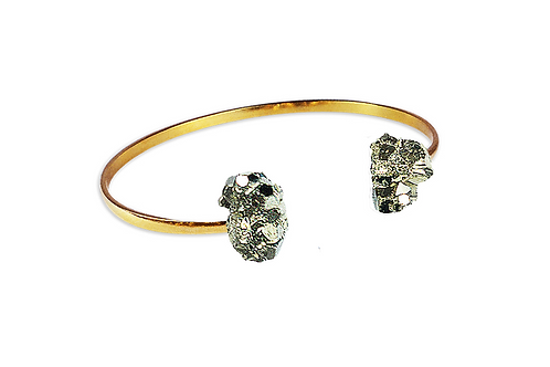 Pyrite | Dual Bracelet