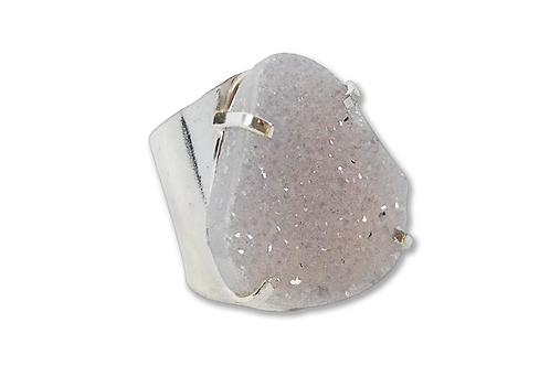 Agate Druzy | Cuff Ring