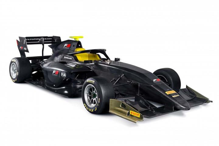 F3: Apresentado o novo FIA-Formula 3
