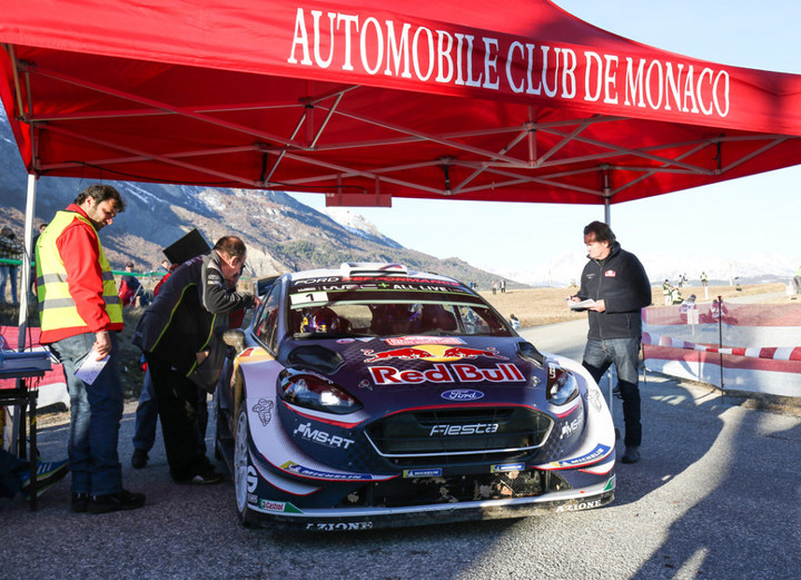 RALI MONTE CARLO: Começou o WRC