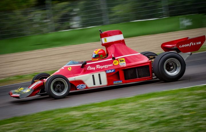 FIA HISTORIC: Começou o espetáculo