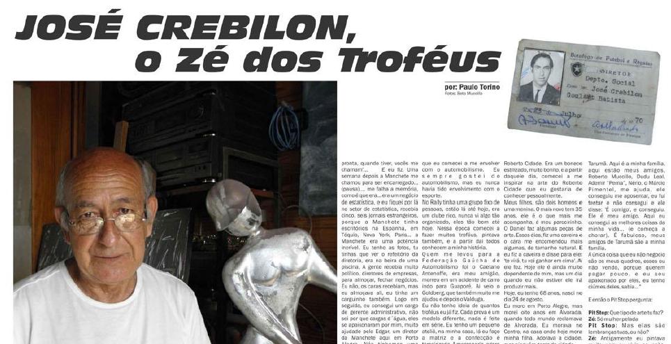 Entrevista Jornal PIT STOP