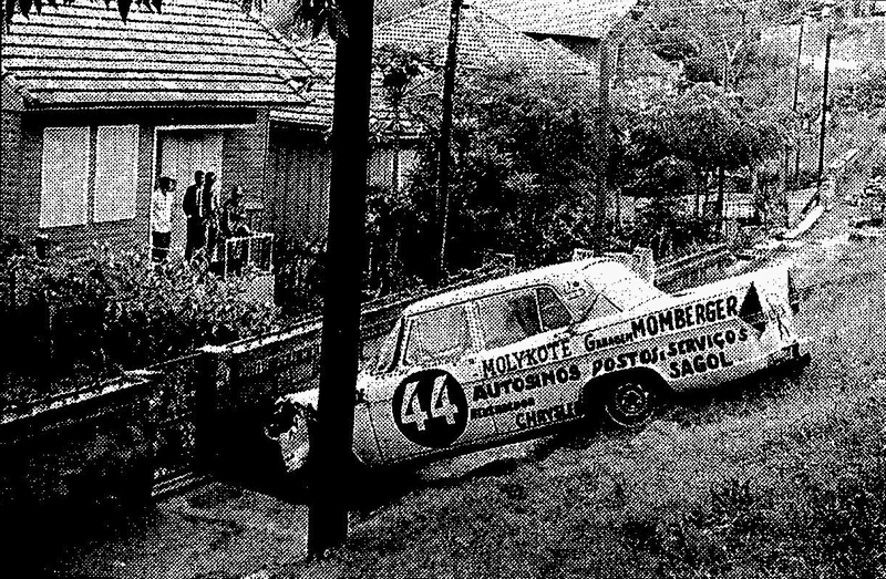 1968 acidente do Simca de Antonio Ventre Foto Blog Sanco
