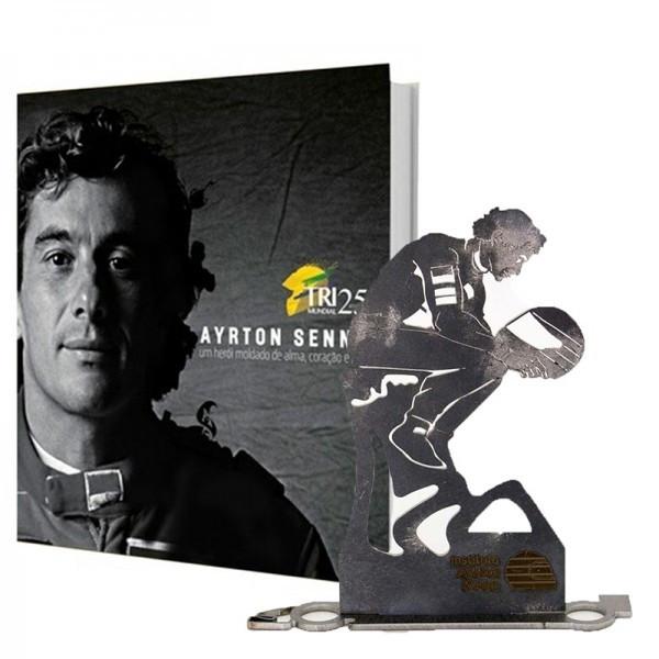 LIVRO: Homenagem Senna em Portugal