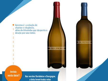 Uma garrafa de qualidade para o seu vinho!