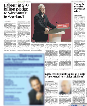 The Scotsman, Monday 12th March 2018, pg