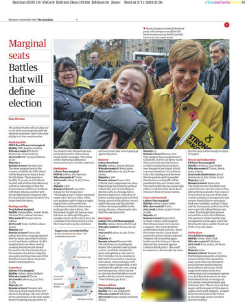The Guardian, Tuesday 19th November 2019