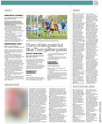 Sunday Post, 30th September 2018, 'Post