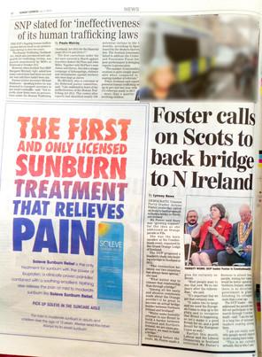 Scottish Sunday Express, 1st July 2018,