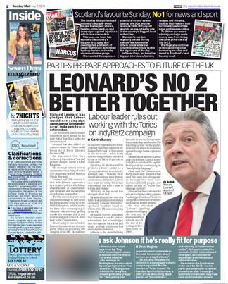 Sunday Mail 7th July 2019, pg 2.jpg